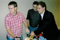 dr.Vastl, dr. Skovajsa, dr. Laurent Lafosse - Annecy, Francie 2007
